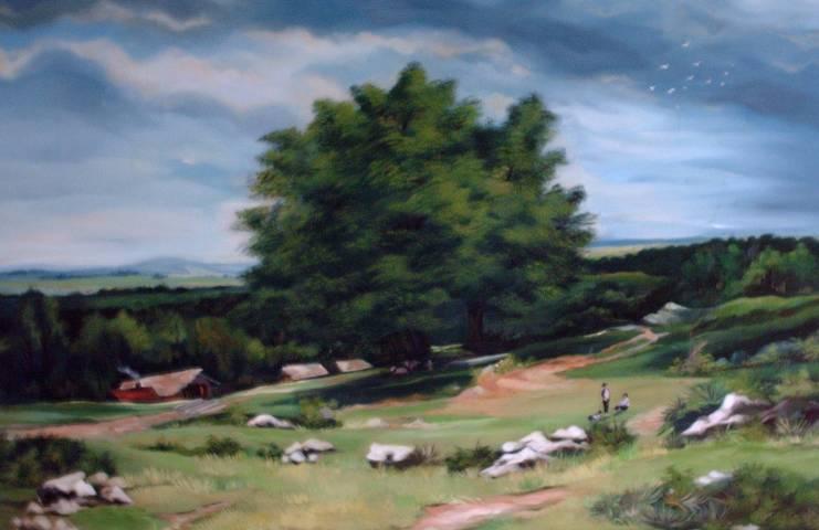 Peinture à l'huile par : Mihail